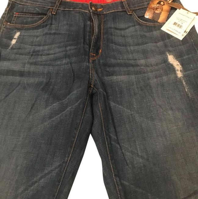 Item - From A Smoke and Pet Free House. Distressed 46-001c Straight Leg Jeans Size 34 (12, L)