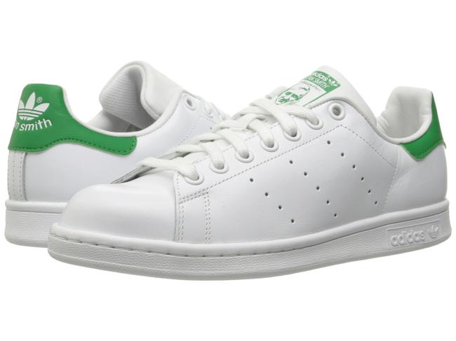 Item - White and Green Women's Stan Smith Sneakers Size US 9 Regular (M, B)
