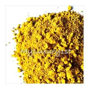 Mustard Matte Yellow 1.5g Pigment Soap And Cosmetic Powder Sample