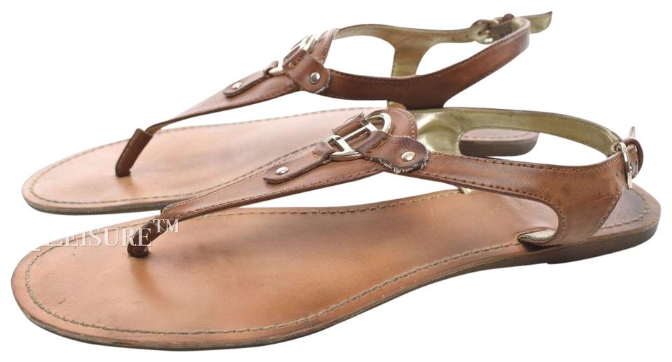 7a1c8333b Tommy Hilfiger Tan Women s Flats M Sandals Size US 8.5 Regular (M
