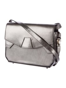 Alexander Wang Pelican Snakeskin Top Handle Exotic Cross Body Bag
