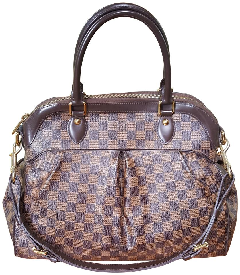 1e0100a42850 Louis Vuitton Trevi Gm Damier Ebene Brown Canvas Satchel - Tradesy