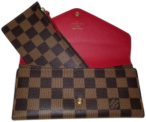 Louis Vuitton Josephine Wallet w/zippered Pouch Insert