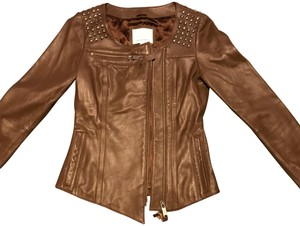 Madison Marcus brown Leather Jacket