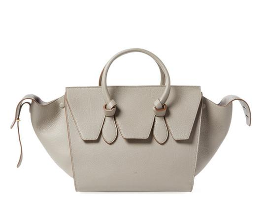 Céline Leather Tote in Grey Image 1