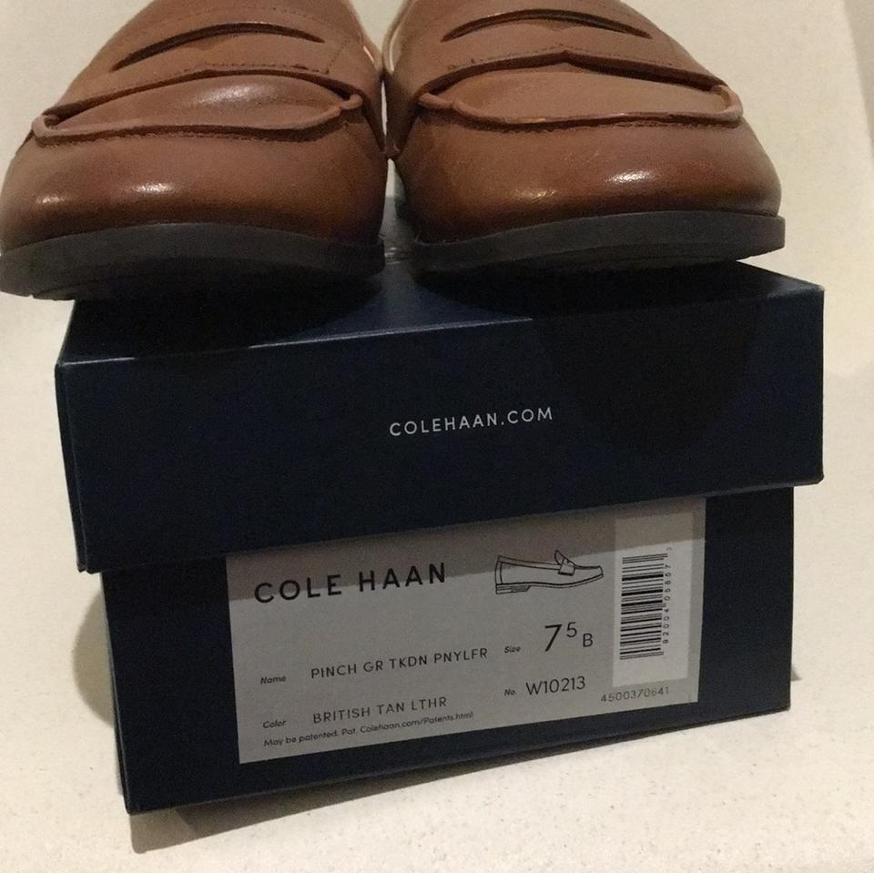 81b16d5d5cd Cole Haan British Tan Pinch Grand Penny Loafer Flats Size US 7.5 Regular  (M, B) 64% off retail