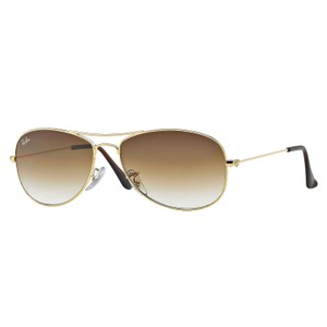 Ray-Ban Ray-Ban Cockpit Sunglasses Gold/ Light Brown Gradient 56mm RB3362