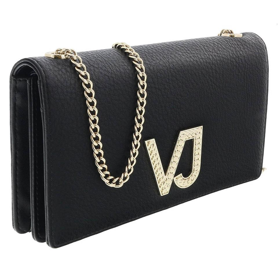 Versace Jeans Collection Versace Black Wallet on Chain ... e085468458b0e