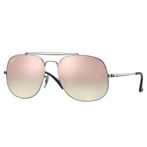 Ray-Ban Ray-Ban Silver/Copper General Sunglasses 57mm RB3561