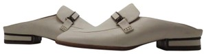 veronique branquinho Slip-on Loafer Leather/Leather Sole Made In Italy Almond-toe Silhouet Light Beige Mules