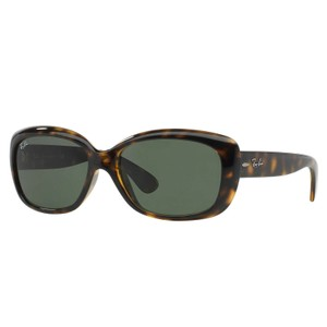 Ray-Ban Ray-Ban Jackie OHH Sunglasses Tortoise/ Green 58mm RB4101