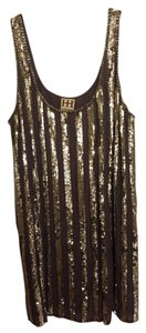 Haute Hippie Snakeskin Dress