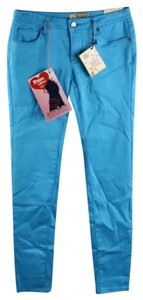 Hybrid Apparel Skinny Pants teal