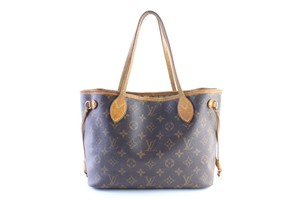Louis Vuitton Damier Neverfull Azur Neverfull Neverfull Mm Shopper Neverfill Tote in Brown