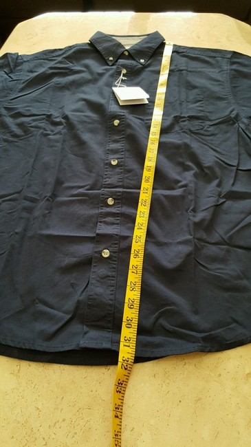 Other Button Down Shirt Navy /Camel