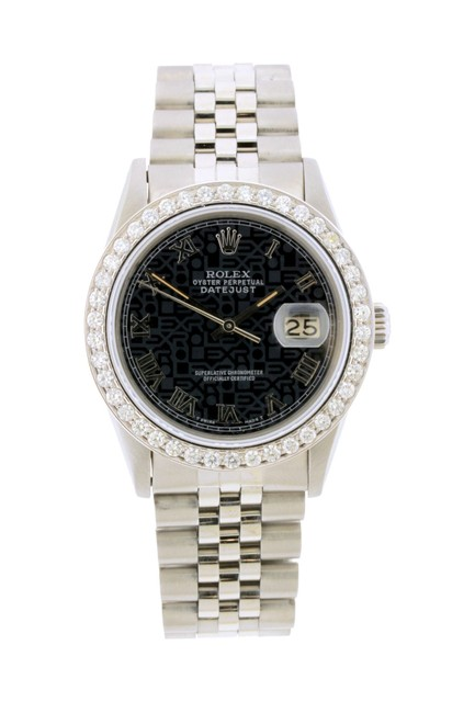 Rolex Box 2.2ct 36mm Datejust Ss with and Appraisal Watch Rolex Box 2.2ct 36mm Datejust Ss with and Appraisal Watch Image 1