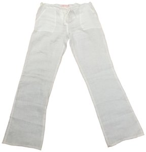 Acrobat Linen Summer Relaxed Pants White