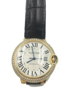 Cartier BALLON BLEU DE CARTIER WATCH yg 36 MM, DIAMONDS