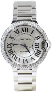 Cartier BALLON BLEU DE CARTIER WATCH 36 MM White gold DIAMONDS