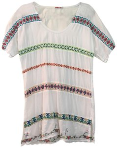 Johnny Was T Shirt white