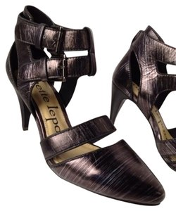 Nanette Lepore Gun Metal Pumps