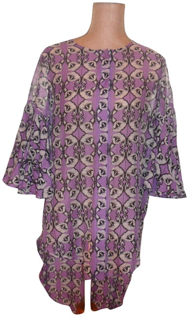 Item - Fab Top/Tunic Shorted In Front Longer In A Back S Multi-color Top