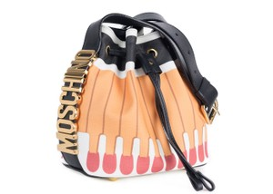 Moschino Leather Cross Body Shoulder Bag