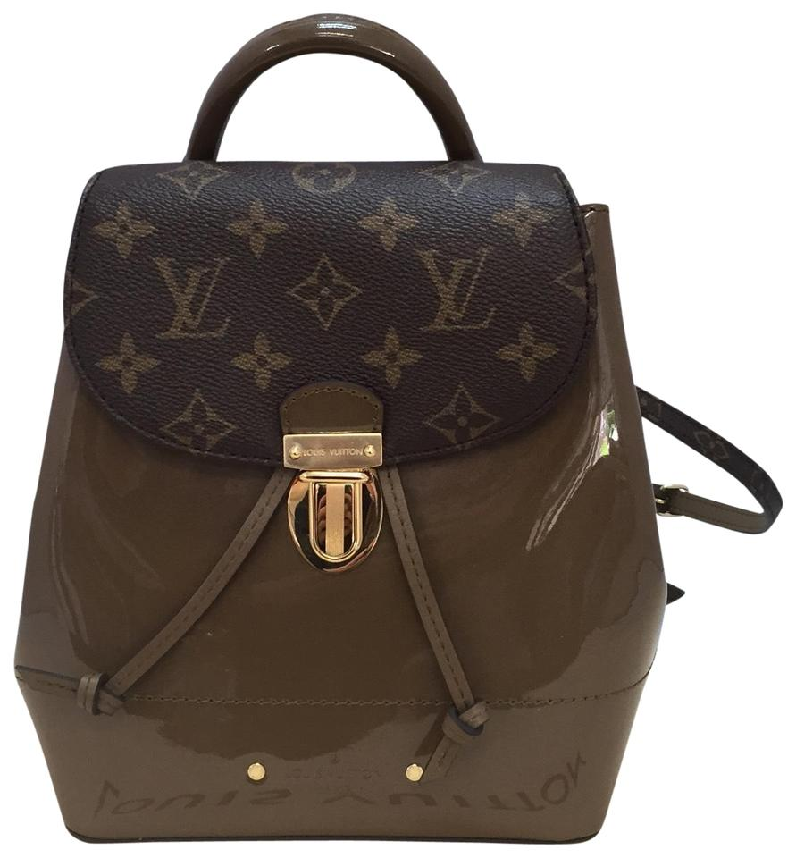 1d73d334d7b7 Louis Vuitton Hot Springs Vert Vernis. Never Used Brown Monogram ...