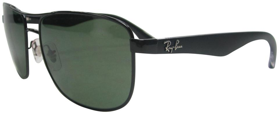 40a99affae Ray-Ban Black Green Made In Italy Rb3533 002 9a Polarized Sunglasses Stb333  Sunglasses