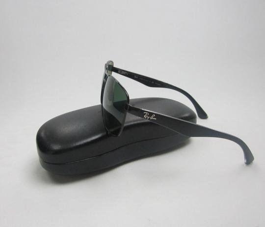 61ef4802e0 Ray-Ban Black Green Made In Italy Rb3533 002 9a Polarized Sunglasses ...