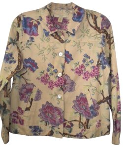 Appleseed's New Floral Multi-Color Jacket