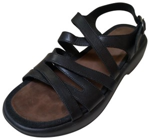 Dansko Strappy Comfortable Walking black Sandals