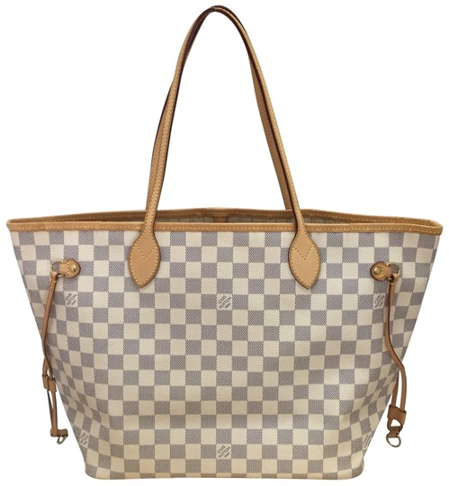05d09eb7911f3 All about Louis Vuitton Neverfull Mm Damier Azur Canvas - kidskunst.info