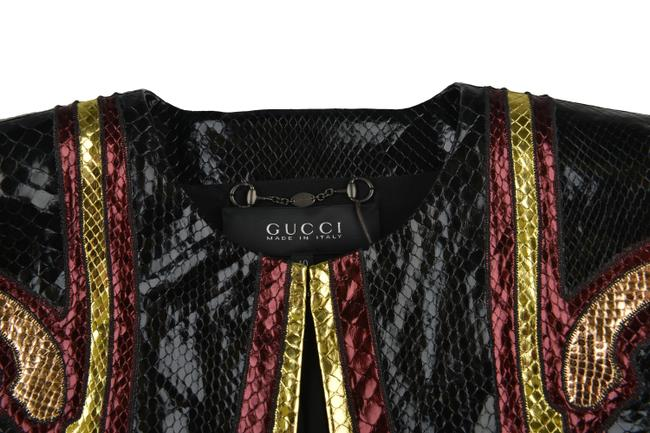 Gucci Multi-Color Leather Jacket