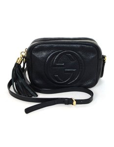 1f2f66c18456 Gucci Soho Soho Disco Disco Camera with Db Black Leather Cross Body ...