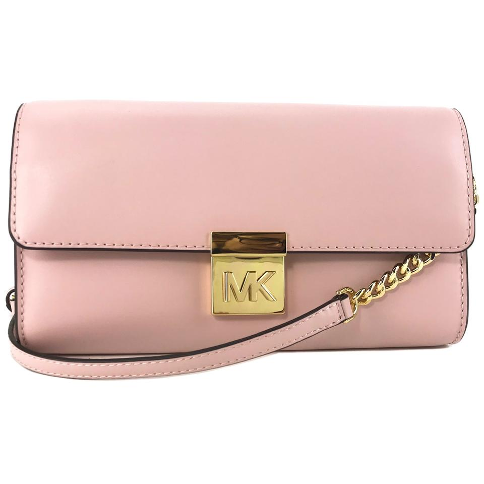 Michael Kors New Clutch Pink Leather Cross Body Bag - Tradesy 1d893c1cfd3e1