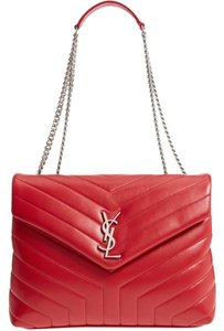Saint Laurent Monogram Quilted Shoulder Bag