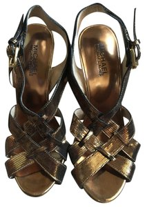 Michael Kors Bronze Sandals