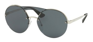 Prada Free 3 Day Shipping New Oversized Rounded SPR 65T 1BC5S0