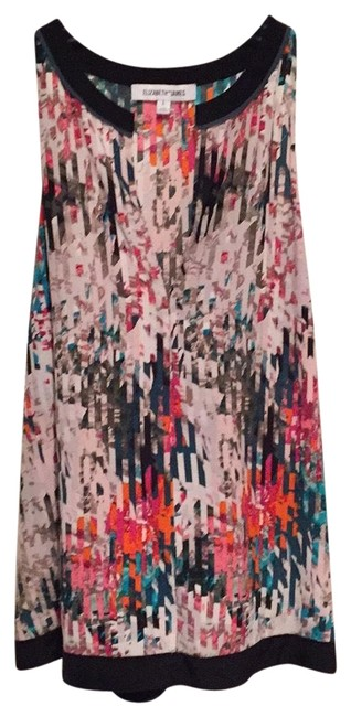 Preload https://item3.tradesy.com/images/elizabeth-and-james-multi-pinks-tans-black-greens-taupes-night-out-top-size-12-l-23544892-0-1.jpg?width=400&height=650