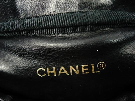 Chanel Vintage Caviar Leather Tote in Black