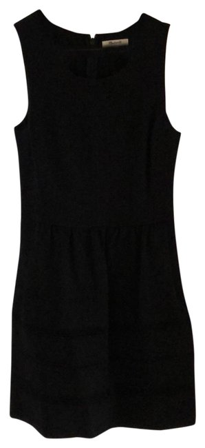 Preload https://item2.tradesy.com/images/madewell-black-mid-length-short-casual-dress-size-4-s-23544931-0-1.jpg?width=400&height=650