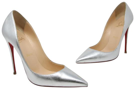 Preload https://item1.tradesy.com/images/christian-louboutin-silver-so-kate-metallic-kidskin-leather-pointed-toe-pumps-size-us-9-regular-m-b-23544995-0-2.jpg?width=440&height=440