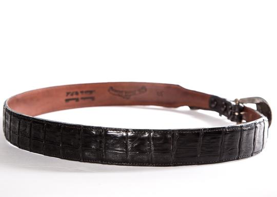Balance Collection by Marika Bandera Collection Black Crocodile Belt
