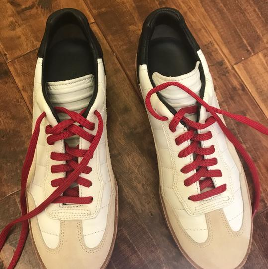 Alexander Wang White and tan, red laces Athletic