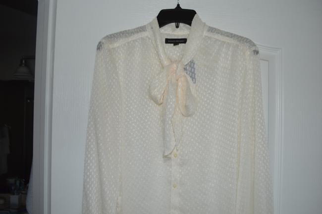 Banana Republic Top Ivory