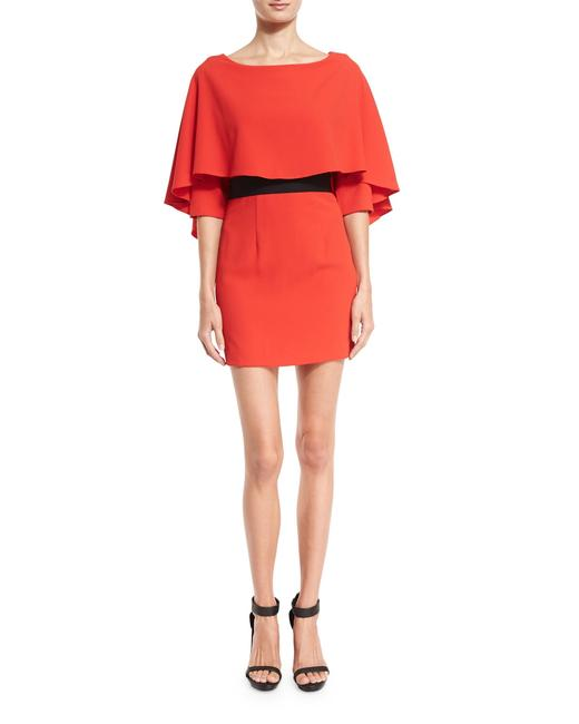 Preload https://item3.tradesy.com/images/alice-olivia-red-cairo-34-sleeve-cape-popover-short-cocktail-dress-size-6-s-23545107-0-0.jpg?width=400&height=650