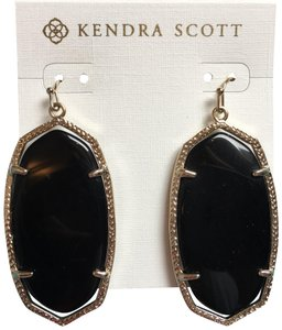 Kendra Scott Danielle Black Onyx Earrings