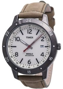 Timex Timex Male Sport Watch T2N898 Cream Analog