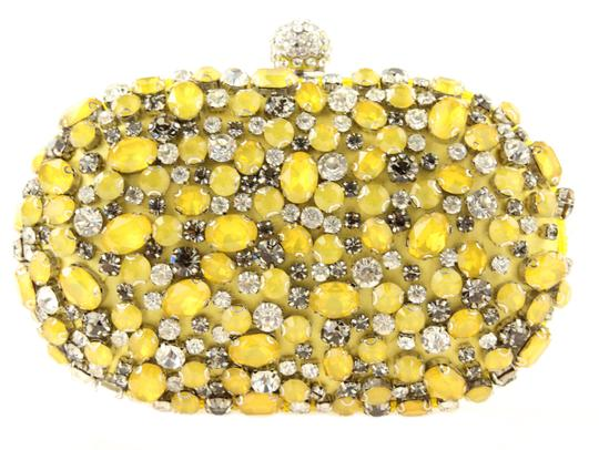 Preload https://img-static.tradesy.com/item/23545166/ideale-oval-yellow-satin-clutch-0-1-540-540.jpg